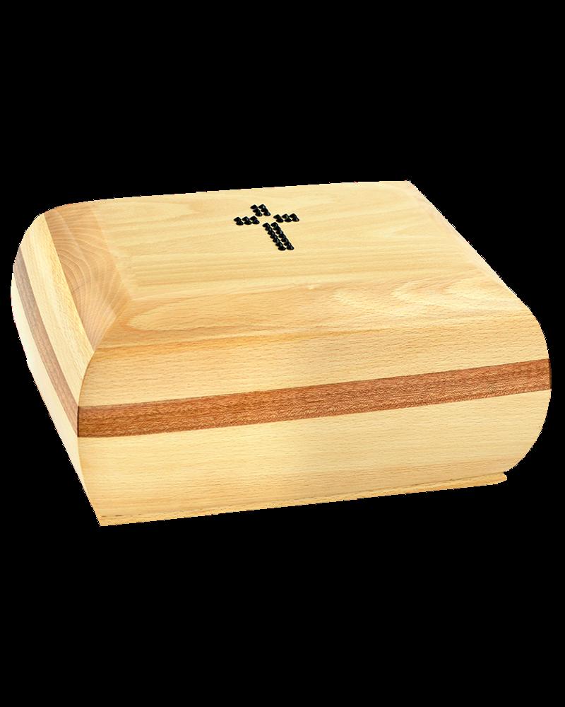 Szkatuła Drewniana Płaska Jasna