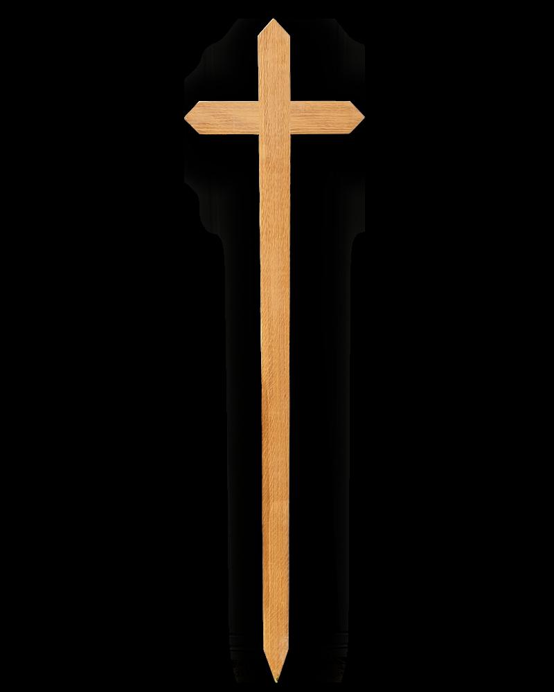 Krzyż Procesyjny Dębowy Dziecięcy