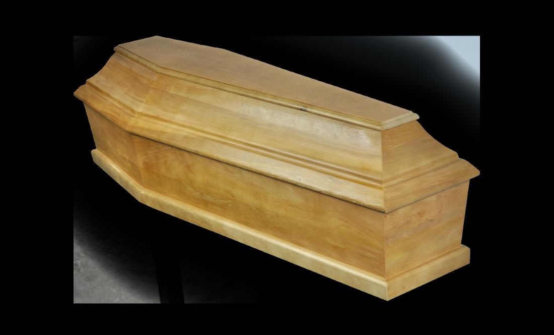 TKD120 Kremacyjna Dziecięca 120 sosna jasny francuska kremacyjna