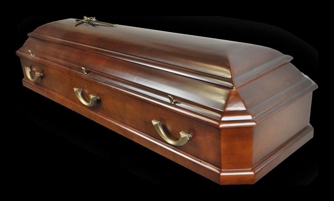 TO8c Amerykanka Olchowa Ciemna olcha ciemna sarkofag do pochówku