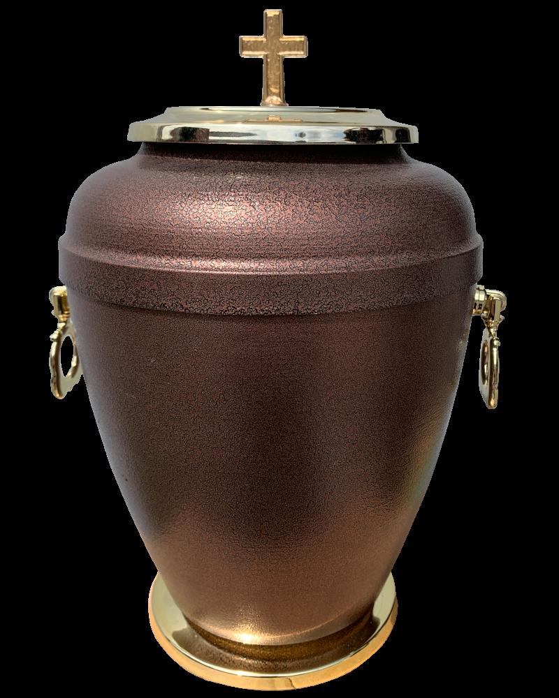 Urna Indyjska Brąz-Srebro