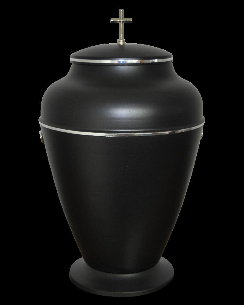 Urna Indyjska Czarna Mat