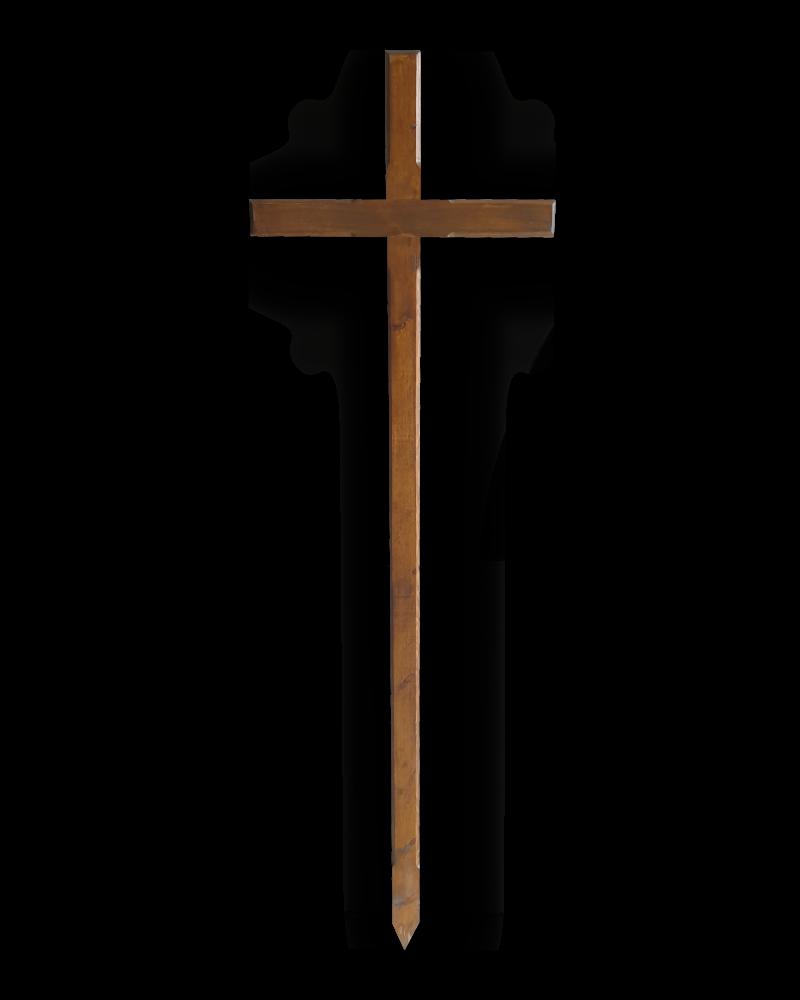 krzyż procesyjny 2 ciemny
