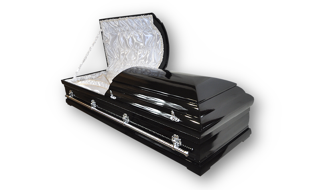 TD10 premium metalik trumna debowa do pochowku