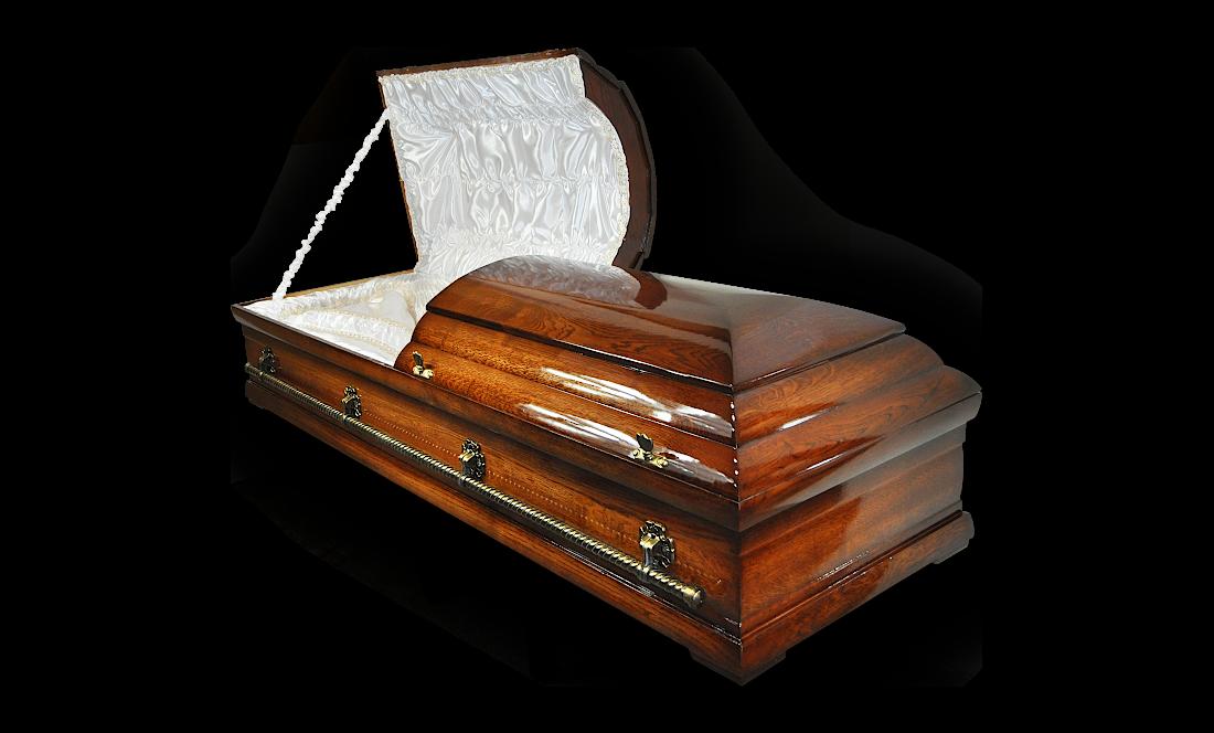 TD19c premium trumna debowa do pochowku